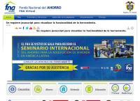 Sitio web de Fondo Nacional De Ahorro