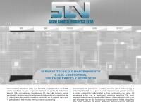 Sitio web de Servi Control Numerico Ltda