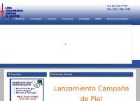 Sitio web de Liga de Lucha Contra El Cáncer