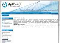 Sitio web de Aplisalud S.a.