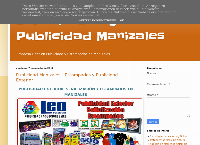 Sitio web de Leo Publicidad
