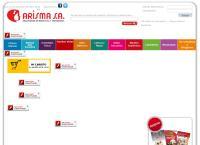 Sitio web de Arisma Ltda