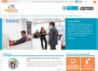 Sitio web de Caprecom