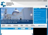 Sitio web de Camara de Comercio de Cartago
