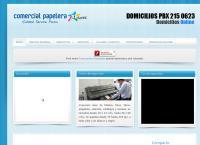 Sitio web de Comercial Papelera S.a.