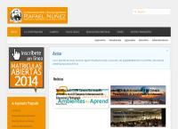 Sitio web de Corporación Universitaria Rafael Núñez