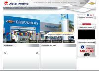 Sitio web de Diesel Andino S.A.