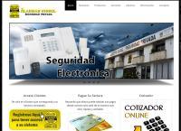 Sitio web de Alarmas Dissel Ltda.