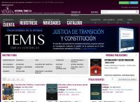 Sitio web de Editorial Temis
