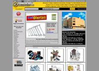 Sitio web de Ferricentro Ferreteria Vergara