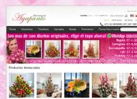Sitio web de Agapanto Floristería