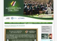 Sitio web de Gimnasio Alessandro Volta - Colegio Italiano