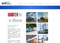 Sitio web de Grúas Pereira