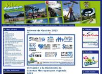 Sitio web de Metroparques