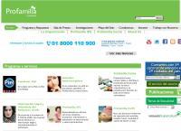 Sitio web de Profamilia