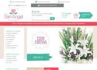 Sitio web de San Angel  - floristerias en medellin