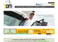 Sitio web de Tdm Transportes S.a.