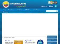Sitio web de Automovil Club de Colombia