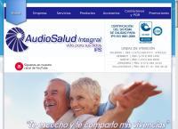 Sitio web de Audio Salud Integral