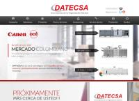 Sitio web de Datecsa S a