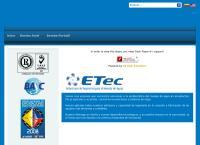 Sitio web de Etec S.a.