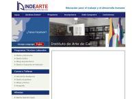 Sitio web de Indearte