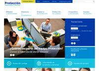 Sitio web de Fondo De Pensiones Protección
