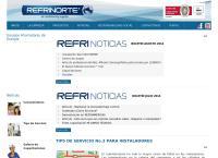 Sitio web de Refrinorte Ltda