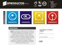 Sitio web de Spiroductos S.a.s.
