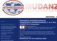 Sitio web de Intermudanzas