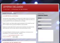 Sitio web de Joyeria Delgado y Mundial