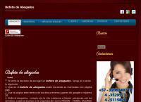 Sitio web de Divorcios Medellín, Abogados