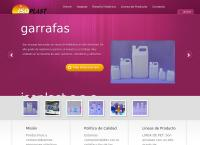 Sitio web de Envases Plasticos  Isoplast