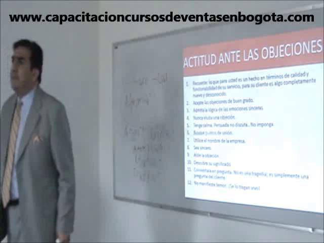 """Capacitación Técnicas de Ventas """"Objeciones..."""""""