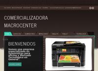 Sitio web de Comercializadora Macrocenter