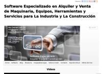 Sitio web de Samec Software - Software Alquiler y Venta de equipos