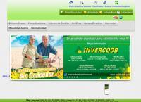 Sitio web de Cooperativa de Ahorro y Credito Invercoob
