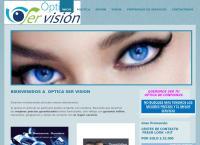 Sitio web de Optica Ser Vision