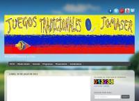Sitio web de Juegos Tradicionales Jomaser - Marketing y Publicidad