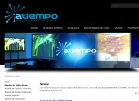 Sitio web de Atiempo, Soluciones y Logística Para Eventos