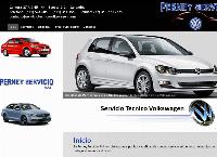 Sitio web de Servicio Tecnico Volkswagen - Perney Servicio SAS