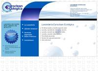 Sitio web de Lavanderia Euroclean Ecologica