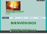 Sitio web de Industrias Ruvaleg SAS