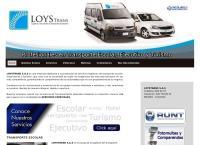 Sitio web de LOYSTRANS S.A.S