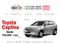 Sitio web de Drive and Go: Alquiler y Renta de Carros