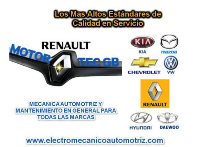 ElectroMecanico Automotriz Taller Renault