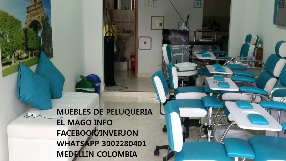 Muebles De Peluqueria El Mago Medellin Calle 11a Sur 53 F 12  # Muebles Cartagena Colombia