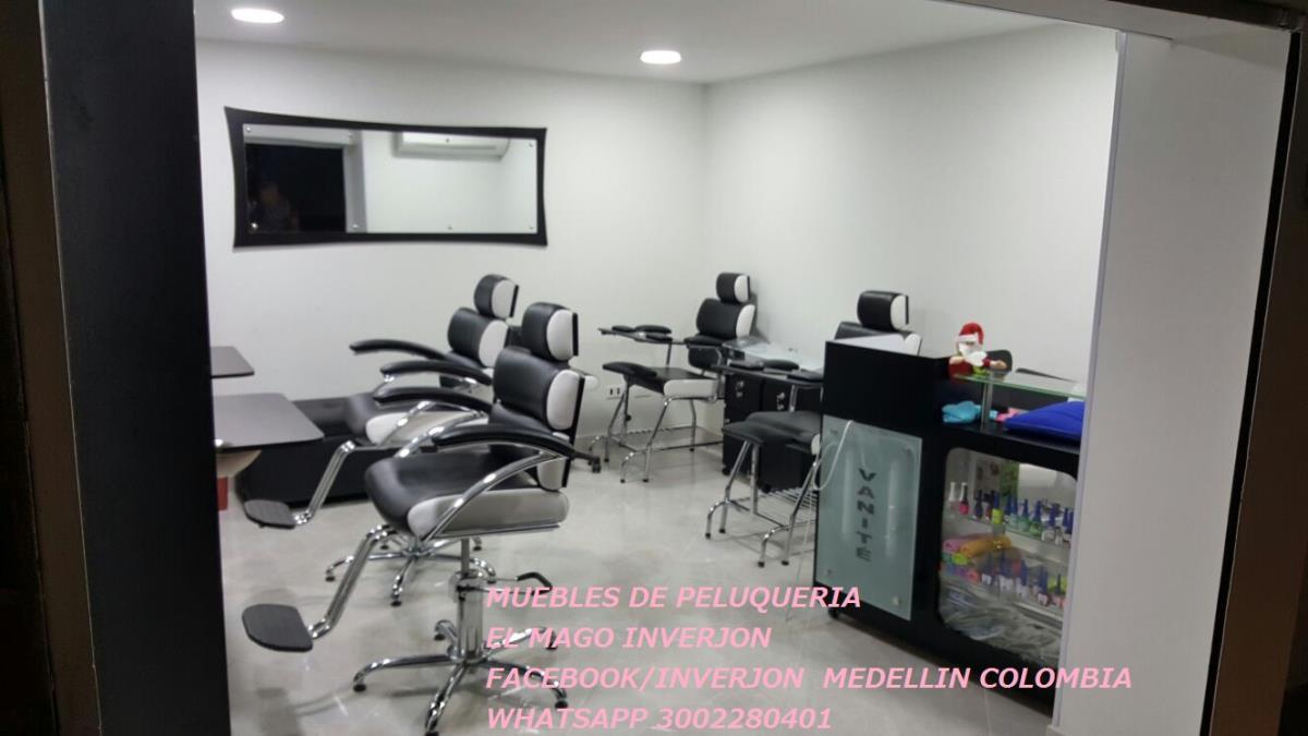 Muebles De Peluqueria El Mago Medellin Calle 11a Sur 53 F 12  # Muebles Direccion