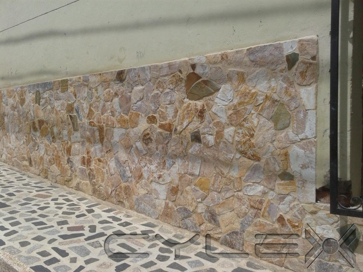Fachadas arte y piedra s a s bello diagonal 54 avenida 43 - Piedra para muro exterior ...