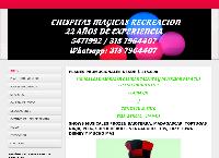 Sitio web de CHISPITAS MÁGICAS RECREACIÓN